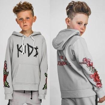 Cool Toddler Boys Hoodie Top Long Sleeve Hooded Sweatshirt Hoodies & Sweatshirts