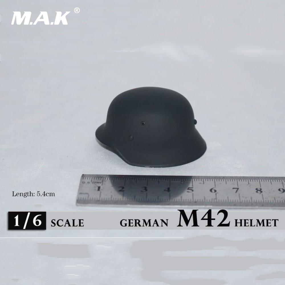 "1//6 Soldier Metal WWII Helmet Cap Model Accessory Toy Fit 12/"" Action Figure"
