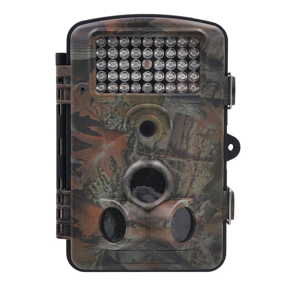 12MP 1080P scouting hunting camera New HD Digital Infrared Trail Camera 2.4' LCD IR Hunter Cam Russian 2 lcd hd 1080p mms digital infrared