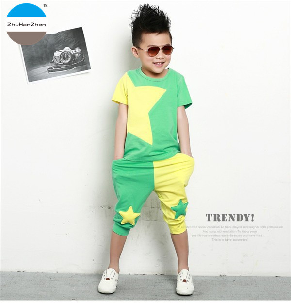 17c4025836ec4 2018 Summer 3 to 7 years old baby boys clothes sets t-shirt + shorts kids  clothing suit cotton children s casual clothes