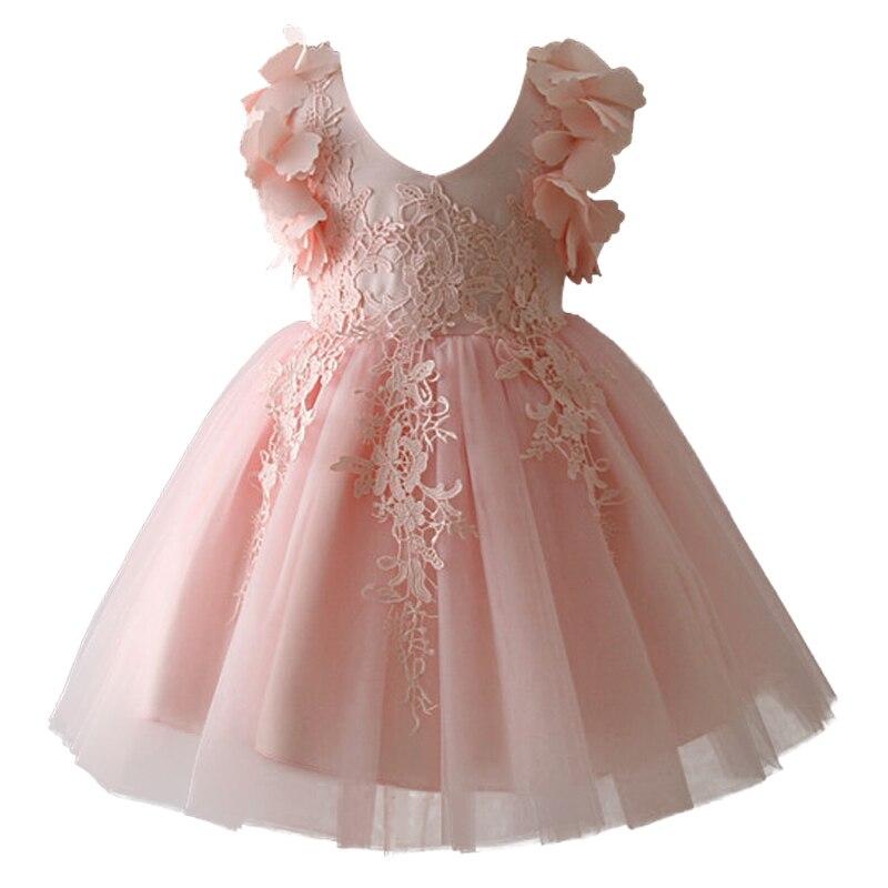 vestidos casamento formal flor dressbaptismo vestido de