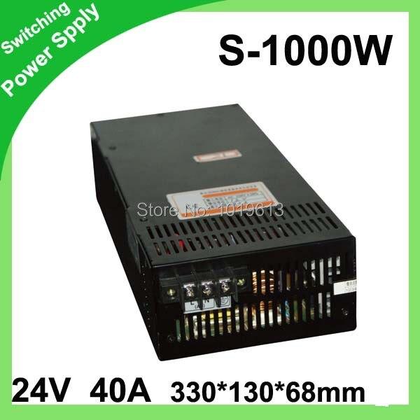 Светодиодный дисплей Импульсный источник питания Светодиодный источник питания 24 В 40A 1000 Вт трансформатор 100 240 В