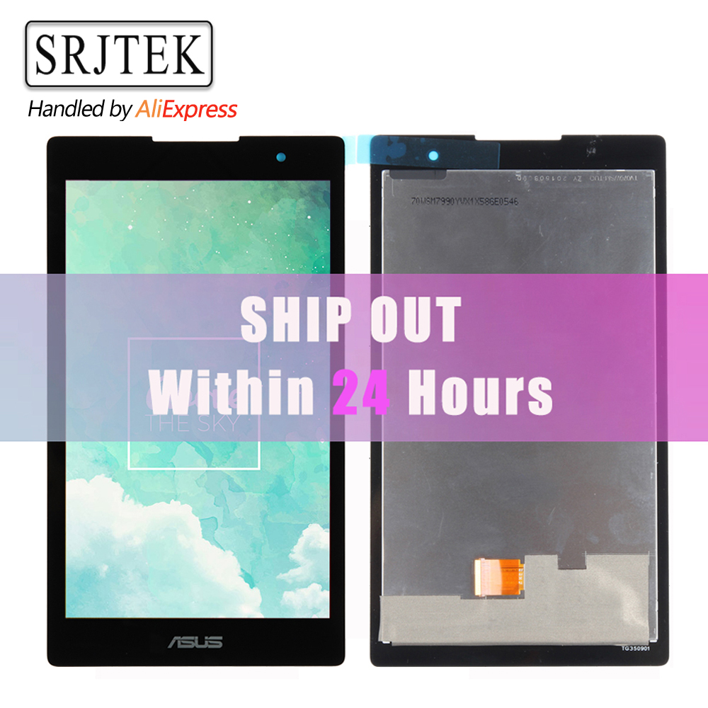 Originale Per Asus ZenPad C 7.0 Z170 Z170CG P01Y LCD DIsplay + Touch Screen Digitizer Assembly Z170CG Matrice Nera Alta qualità