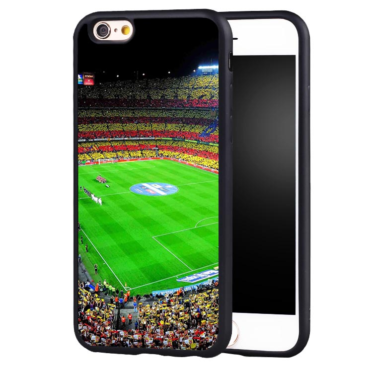 Estadio Brasil football soccer Printed Soft TPU Silicone Full Protective case Cover For iPhone X 8 7 7Plus 6 6S Plus 5 5S 5C SE