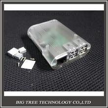 Cool Stripe box! Raspberry Pi 2 model b case fit with Raspberry Pi model b plus MIni Computer