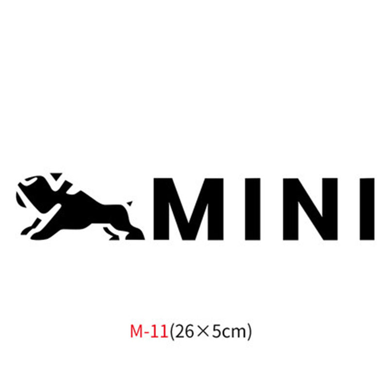 Различные автомобильные наклейки Union Jack для Mini Cooper One S JCW Countryman Clubman F55 F56 R55 R56 R60 F60 автомобильные аксессуары - Название цвета: M-11