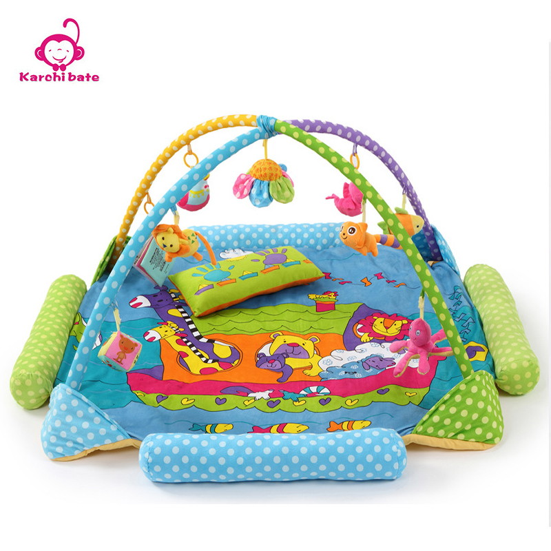 Karchibate Cotton Polyester Oversize Baby Activity Gym Rug