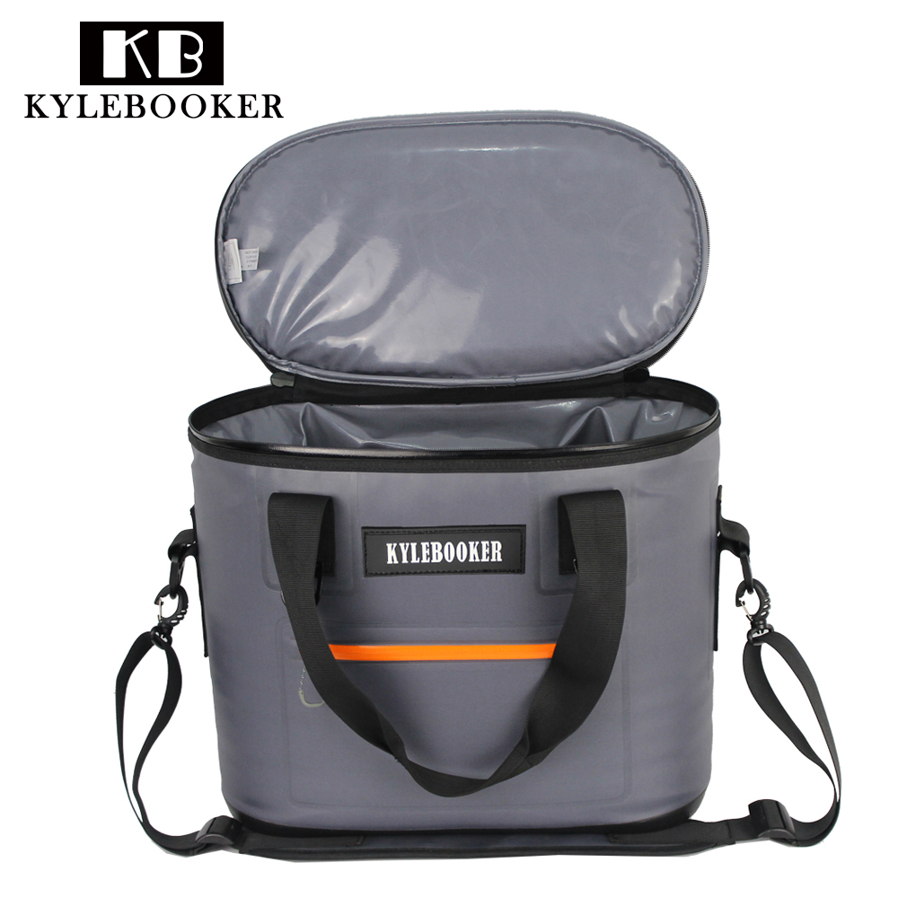 Waterproof Cooler Bag Large Meal Package Lunch Picnic Bag Insulation Thermal Insulated for waders  fly fishing hunting hiking gzl new gray waterproof cooler bag large meal package lunch picnic bag insulation thermal insulated 20