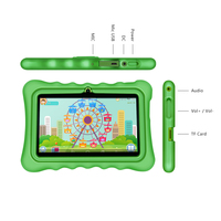 New Yuntab Q88H 7inch Touch Screen Kids Tablet Kids Software Pre Installed Educational Game Apps With