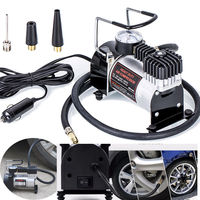 Universal 12v Car Electric Air Compressor 100PSI Tyre Deflator Portable Inflator Pump For Bicycle Auto Motorcycle