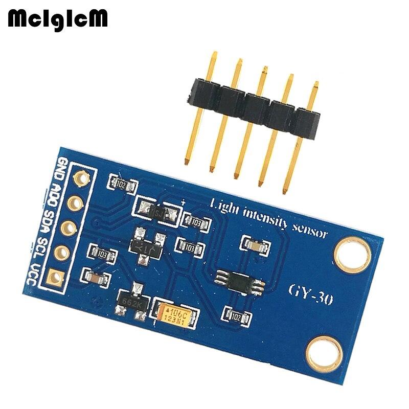 MCIGICM 200 шт. BH1750FVI цифровой интенсивность света Сенсор модуль