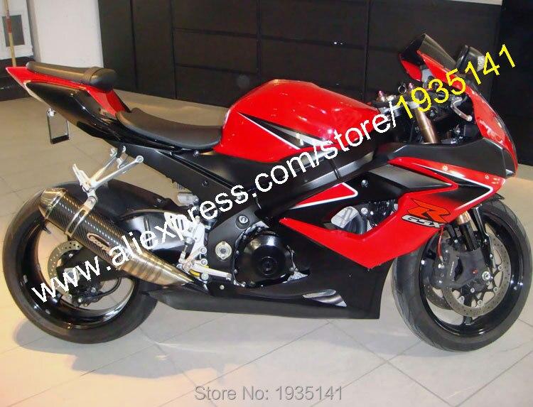 Лидер продаж, для Suzuki GSX-R1000 2005 2006 K5 GSXR1000 05 06 GSX R 1000 красные, черные индивидуальные мото Обтекатель Kit (литья под давлением)