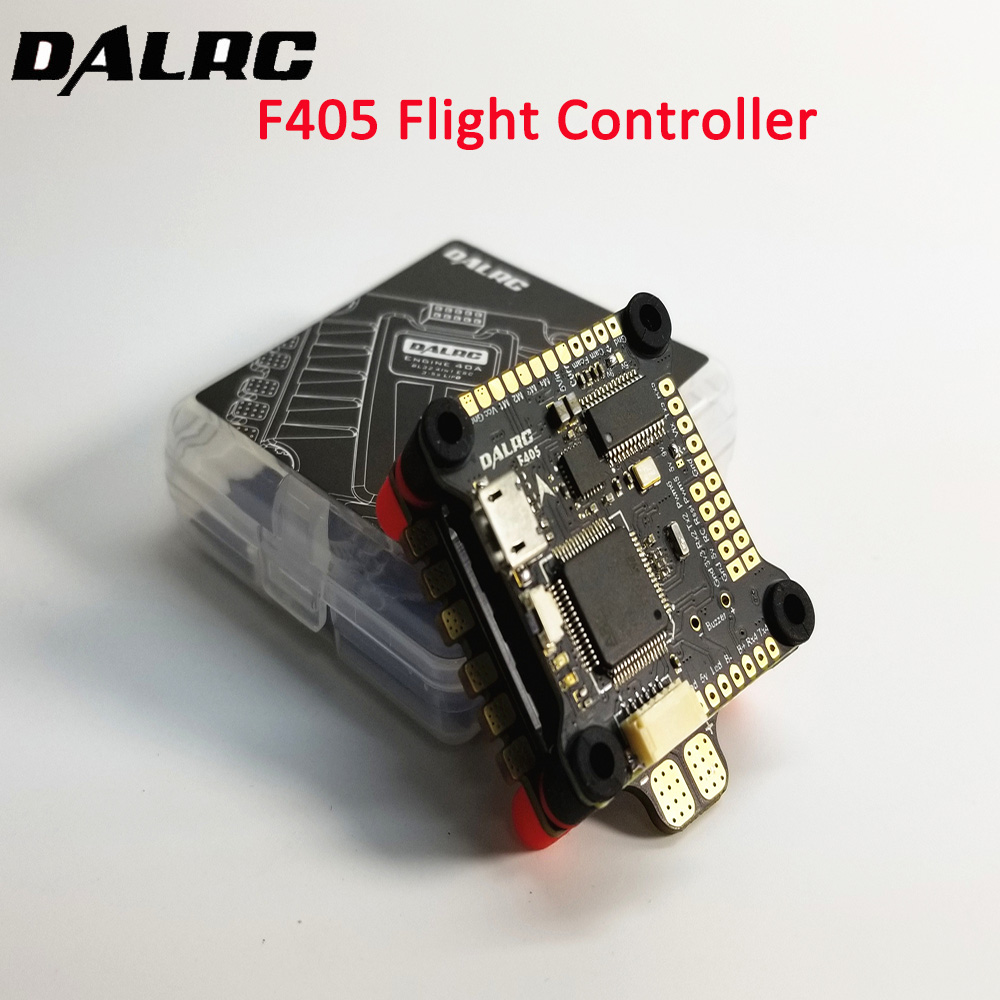 DALRC F405 F4 Flight Controller MPU6000 Gyro Built-in OSD 9V/3A BEC F4 Flight Control for FPV Freestyle Racing Drone Quadcopter f3 mini stm32f303 2 4s flight controller 20 20mm 3 7g built in 5v 3a bec osd lc filter for rc racing drone quadcopter