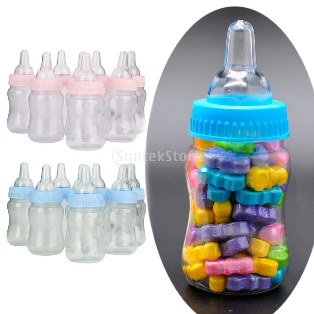 small feeding bottle christening baby shower favors party de