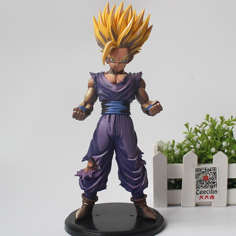 Manga Dragon Ball Z Figurine Model 23cm PVC Super Saiyan Son Gohan Goku Figure Toys CEECILIO