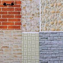 10pcs 1:25 건축가 건물 모델 만들기 모래 테이블 소재 벽 종이 140*297mm 새로운