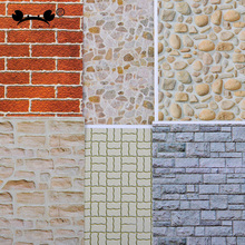 10pcs 1:25 Architectual building Model making sand table material wall paper 140*297mm New
