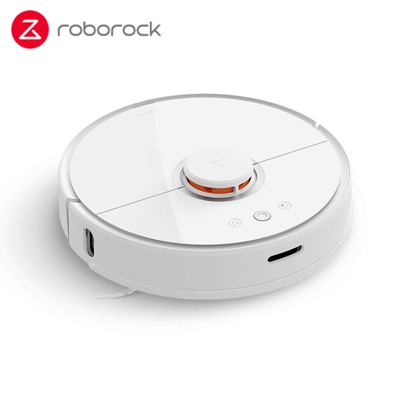 Roborock s50 s55 2 Robô Aspirador de pó para Casa Inteligente de Limpeza Molhado Limpar Tapete Poeira Mi Automático Varrendo Robô Sem Fio APP