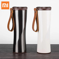 Original Xiaomi Smart Insulation Cup Kiss Kiss Fish Smart Tumbler Portable Stainless Steel Thermal Vacuum Bottle OLED Display