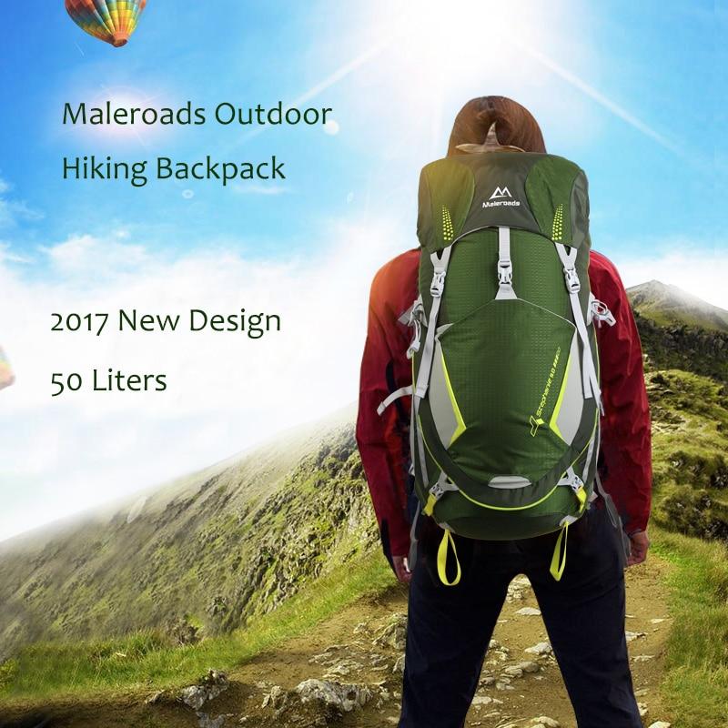 Top qualité Maleroads 50L Camping randonnée sac à dos hommes femmes voyage sac à dos Sport de plein air sac à dos escalade Trekking sac à dos - 6