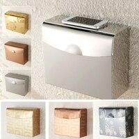 Bathroom Pocketer Wall Mounted Steel Adhesive Toilet Paper Towell Toilet Tissues Holders Rack Holder Bathroom Towel Holder Paper