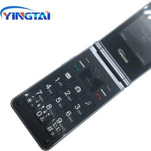 Image 5 - Celular yingai t39l original, telefone gsm, com flip, fm, dual sim, 2.8 polegadas, botão clamshell, desbloqueado, 2g celular móvel