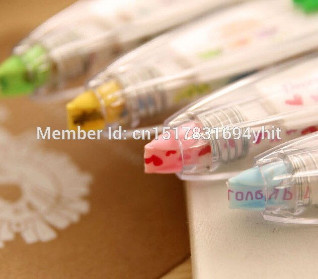Korea-Stationary-Sweet-Floral-Correction-Tape-Pen-Sticker-Kids-Students-Decorative-Masking-Tapes-Adesivos-Label-Tape-Stickers-2