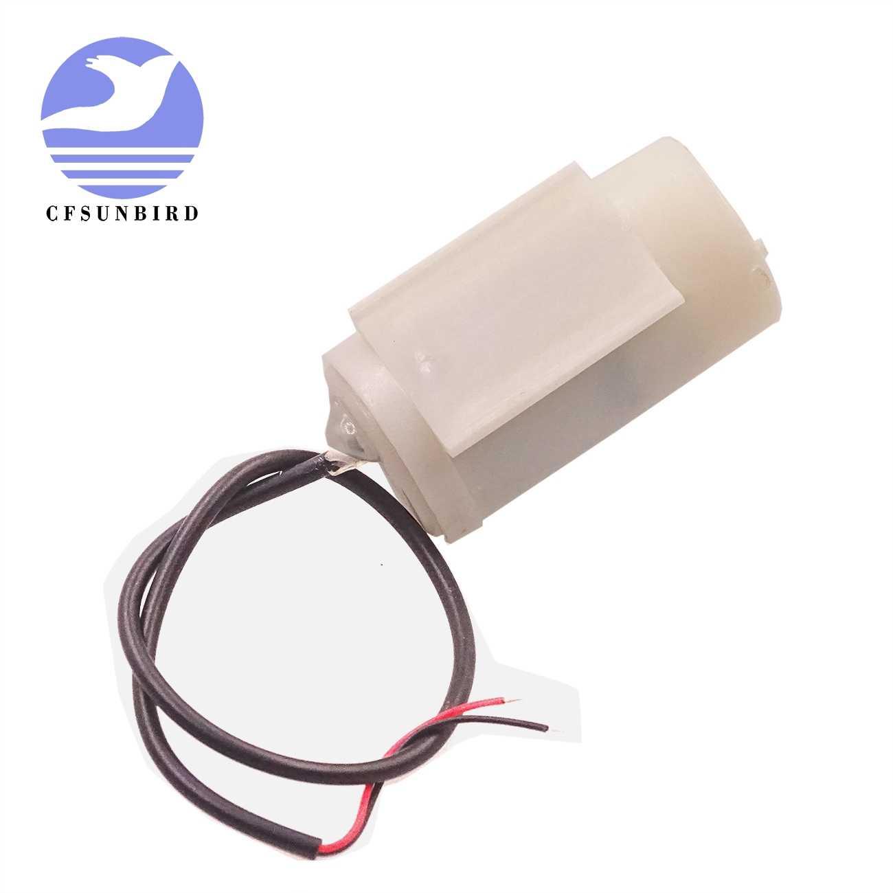 1 piezas mudo Mini Micro Motor sumergible de la bomba de agua bombas de DC 3-5 V 70-120L/H USB