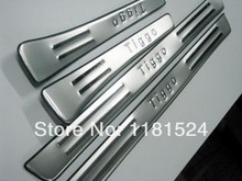 High quality stainless steel Scuff Plate/Door Sill For 2009-2012 Chery Tiggo
