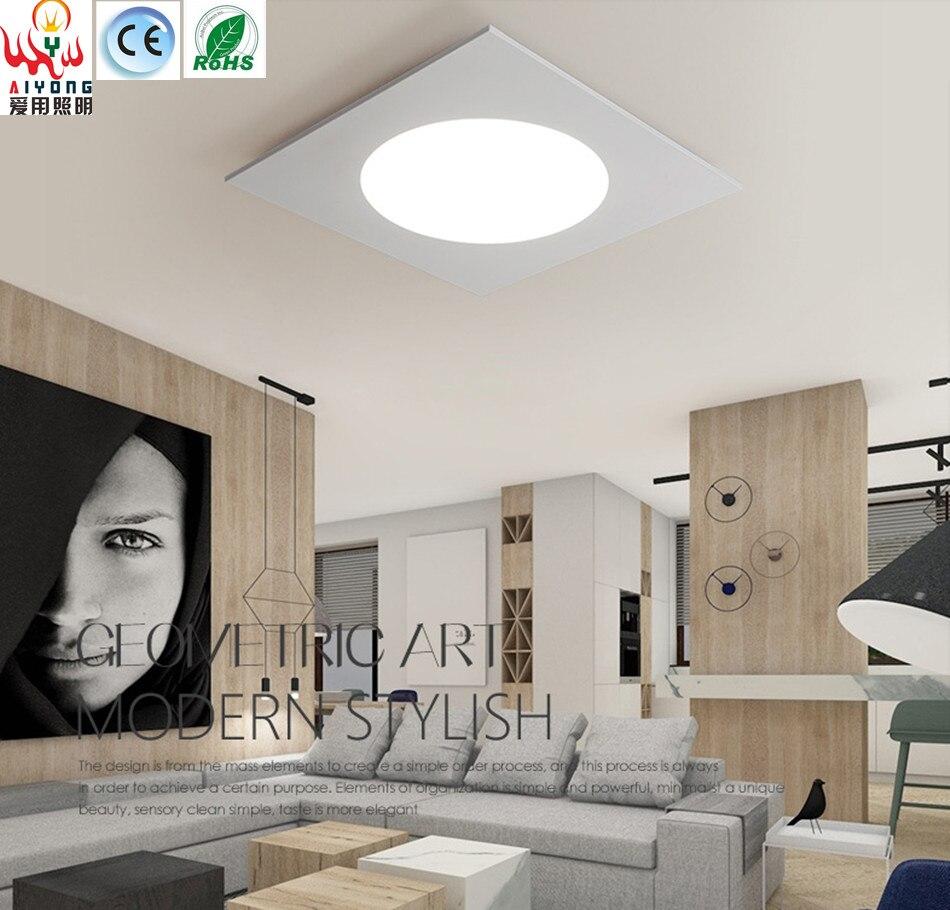 Hall D Entrée Moderne fer acrylique moderne minimaliste led plafond lampes hall d