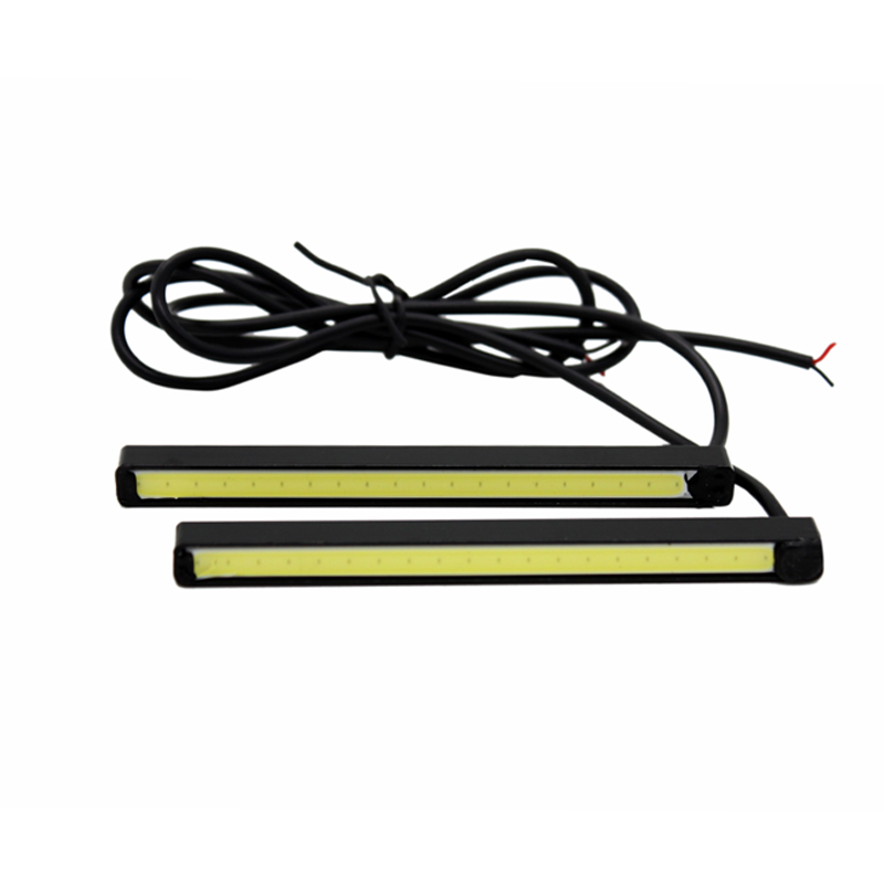 2Pcs/Set SUNKIA 100% Waterproof 10CM COB DRL Daytime Running Light - Car Lights