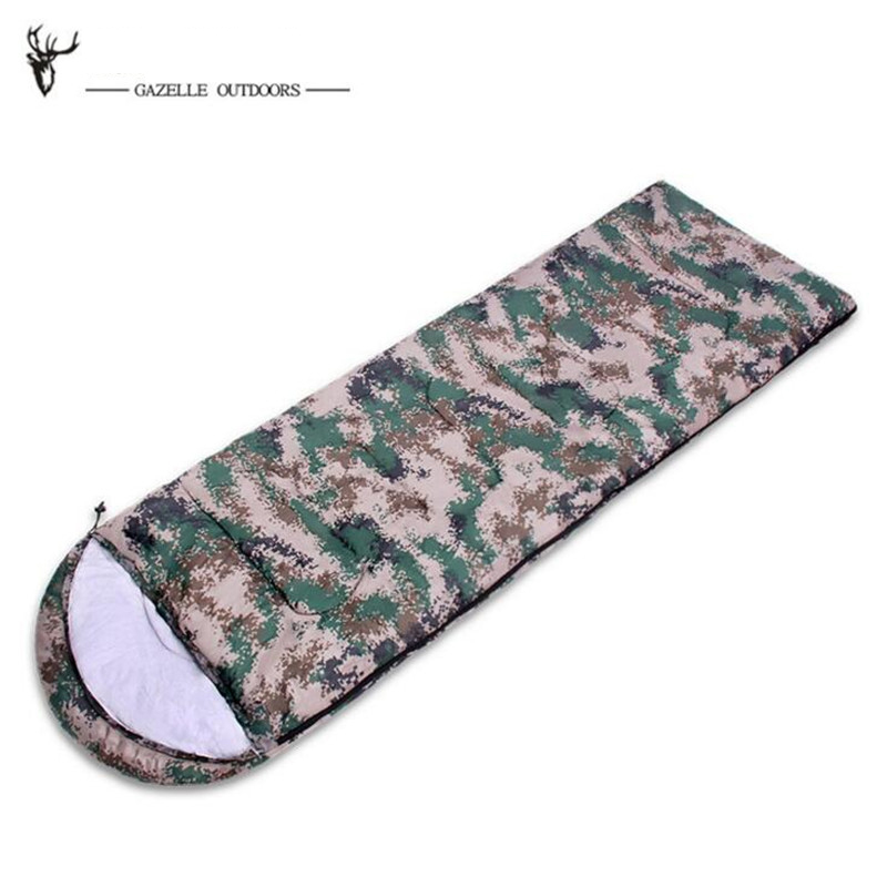 GAZELLE OUTDOORS apply Spring autumn winter Digital Camouflage Envelope Ultralight Adult Portable Outdoor Camping Hiking gazelle outdoors зелёный цвет двойной