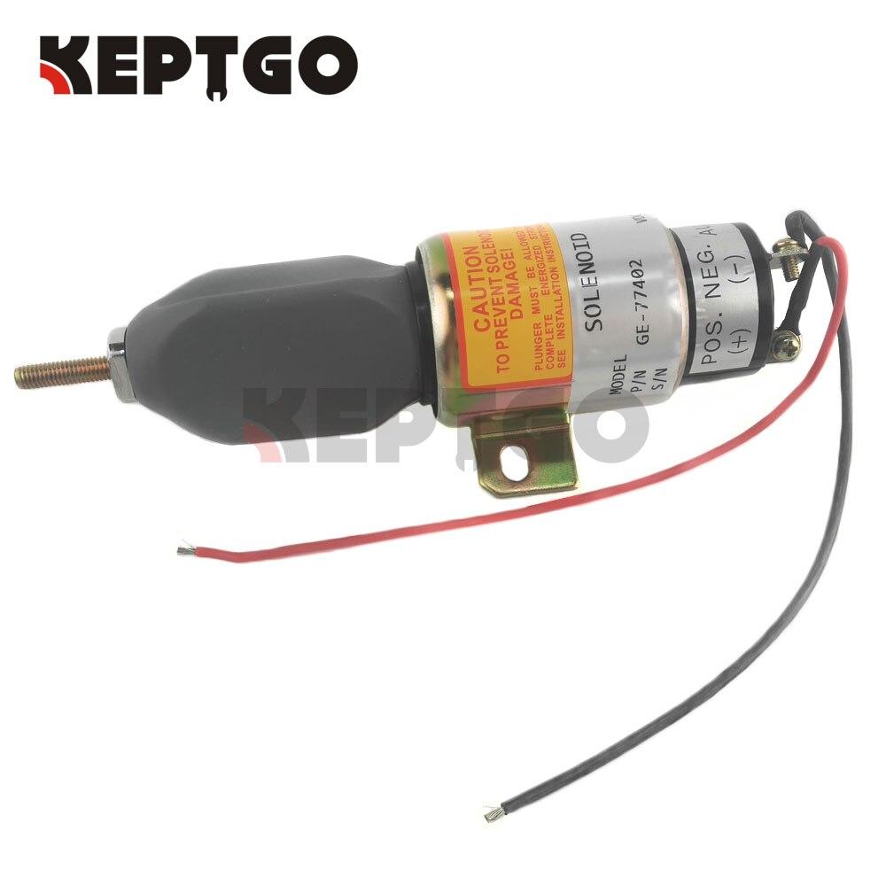 Throttle Actuator Solenoid 12V GE-77402 , 77402GT