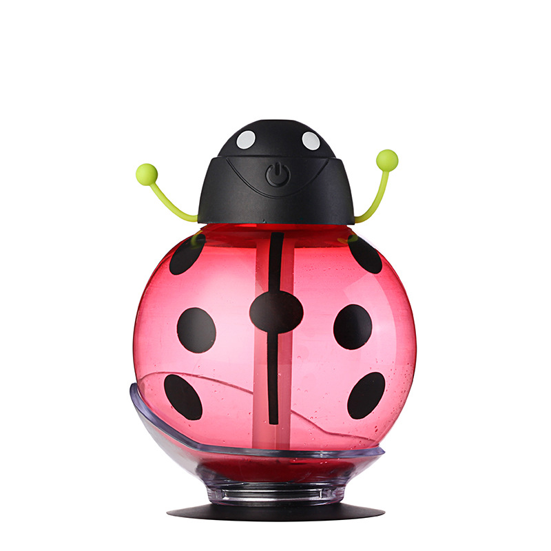 New Creative Mini Portable Mute Ultrasonic Beetles font b Humidifier b font Air Diffuser Mist Maker