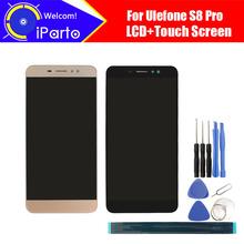 5 3 cal Ulefone S8 Pro wyświetlacz LCD + ekran dotykowy Digitizer zgromadzenie 100 oryginalny nowy wyświetlacz LCD + ekran dotykowy Digitizer dla s8 Pro tanie tanio iParto Pojemnościowy ekran 1280x720 3 for Ulefone S8 Pro for Ulefone S8 Pro 1280x720 HD 5 3inch Original for S8 ProLCD Dispaly Touch Screen