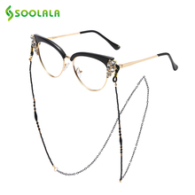 SOOLALA Metal Glasses Chains Beaded Sunglasses Chain Eyewears Cord Holder Neck S
