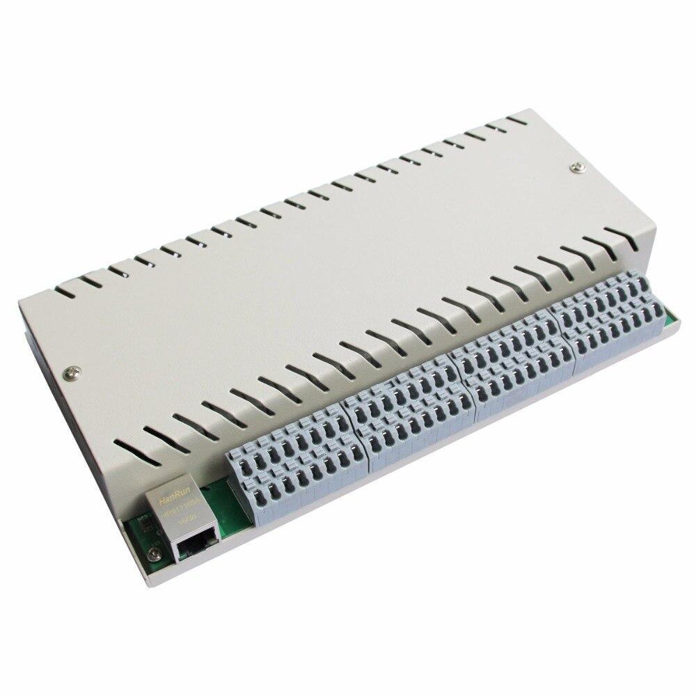 32 gangue Rede Ethernet TCP IP Módulo de Controle do Relé Interruptor Diy Inteligente Domótica Domotica Controle Remoto de Alarme de Segurança