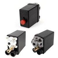 On Off Button 12 Bar 175PSI AC 240V 20A 4 Port 1Port Air Compressor Pressure Switch