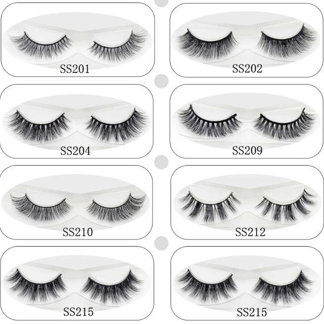 98dd42e9781 Lash 3D Mink Lashes Eye Lashes Soft Thick & Natural Long Fake Eyelashes  Extension For Makeup