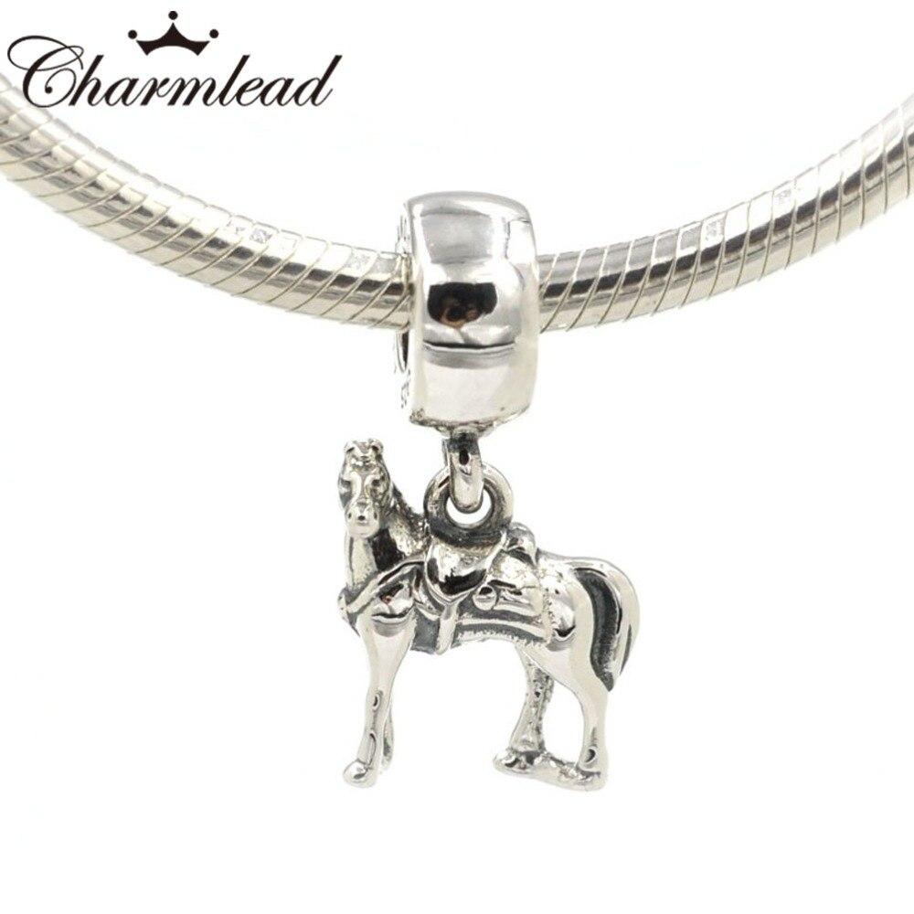 charm pandora horse