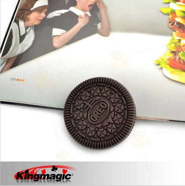 Лидер продаж Восстановленный Кирилл Печенье Oreo с откушенным краем Cookie Печенье Oreo с откушенным краем из Cookie Крупным планом Magic реквизит для магических фокусов Magic игрушки Классические игрушки