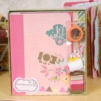 DIY Scrapbook Handmade Photo Album Material Lovers Photo Album Kit Luxury Handmade Clipbook
