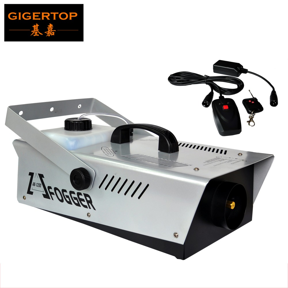 TIPTOP Stage special effects fog machines price Wire Wireless fog machine 1200w haze machine factory manufactured
