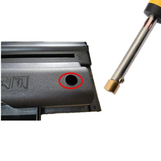 Recharge toner poudre trousse à outils + 4 puce pour hp CF530A 205A cartouche pour hp couleur LaserJet Pro 154 M154nw M180nw M180n M181f M181