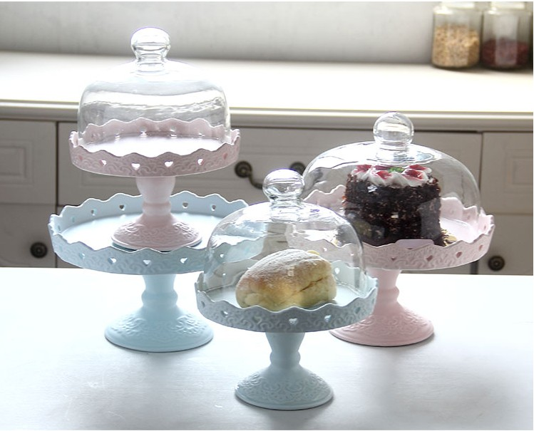 wedding cake tray hollow lace wedding ceramic cake stand dessert tray 8846