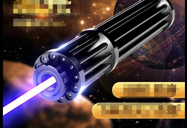 Plus Puissant 1000000 m 450nm Haute Puissance Pointeurs Laser Bleu lampe de Poche lumière Brûler L'allumette Bougie Cigarette Allumée Méchants LAZER Torche