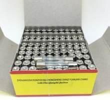 0.1A 0.2A 0.25A 0.5A 1A 2A 2.5A 3A 3.15A 4A 5A 6A 6.3A 7A 8A 10A 12A 15A 20A Fast Blow 5*20mm 250V Glass Fuse Tube x 100pcs