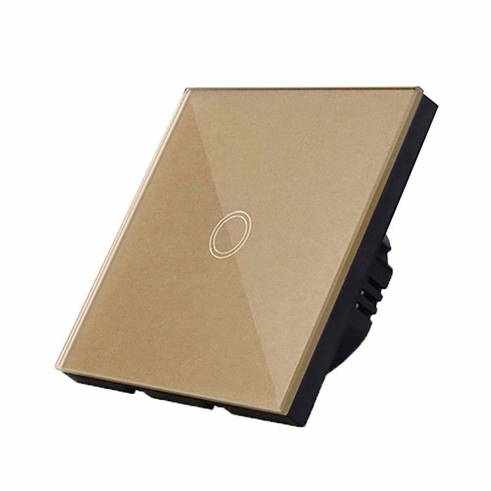 OCDAY Kristallglas verkleidung Berührungsschalter Y601A EU Standard ...