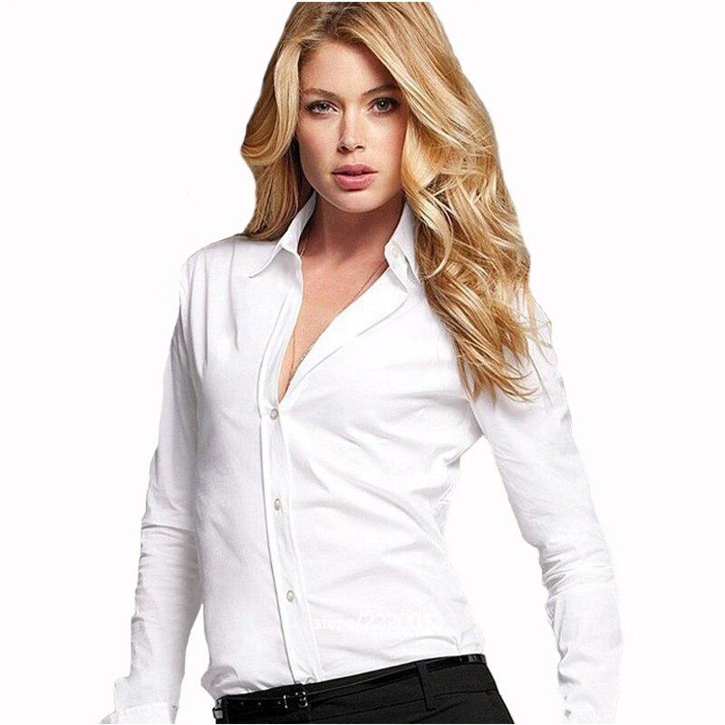 686a24229 Blusa feminina de seda cetim com botões P GGGG camisa casual branca preta  dourada vermelha manga longa blusa top em Blusas e camisas de Roupas  femininas no ...