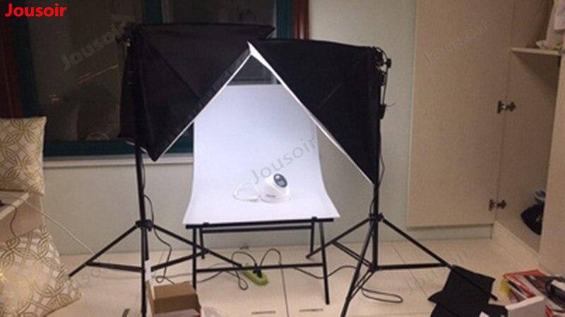 45 watt led kleine leven tafel dubbele lamp set Eenvoudige studio vulling licht foto schieten zacht Licht Doos CD50 T03 - 5